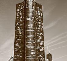 Chicago Skyline by Frank Romeo