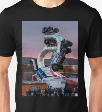 Big Rig Jig by Mike Ross at Banksy's Dismaland Unisex T-Shirt