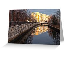 Quiet Reflection - Providence, RI Greeting Card