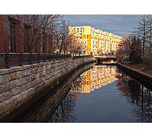 Quiet Reflection - Providence, RI Photographic Print