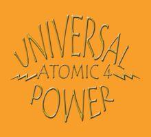 "Universal Atomic 4 Power Afourian Emblem by Arthur ""Butch"" Petty"