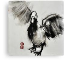 a duck Canvas Print