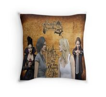 SwanQueen Storybook Throw Pillow