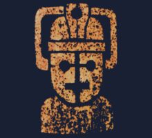 Rusty the Cyberman, Small Chest Emblem Kids Tee
