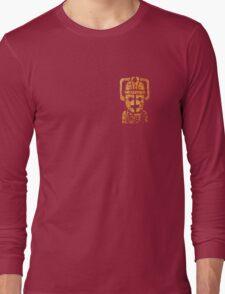 Rusty the Cyberman, Small Chest Emblem Long Sleeve T-Shirt