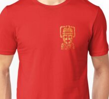 Rusty the Cyberman, Small Chest Emblem Unisex T-Shirt