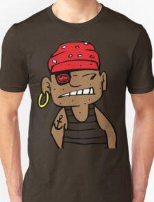 uk pirate tshirt by rogers bros T-Shirt