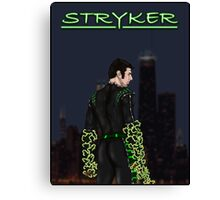 Stryker Poster Canvas Print