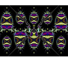 Ten (X) Shields  (FSK3907) Photographic Print