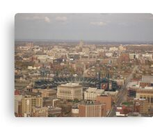 Comerica Park 40th floor view Canvas Print