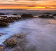 Sunrise at The Friendly Beaches, Tasmania by Michael Treloar