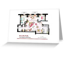 Ted Mosby's apartment from 'HIMYM' Greeting Card