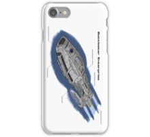 Battlestar Enterprise NX-1701-F iPhone Case/Skin