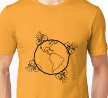 Ride the Planet Unisex T-Shirt