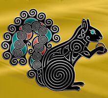Black Squirrel by John Dean