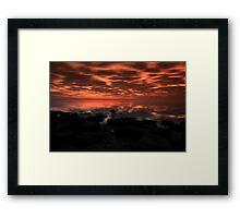 Twight beauty Framed Print