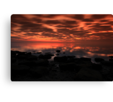 Twight beauty Canvas Print