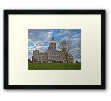 State Capitol Building - Hartford, CT Framed Print