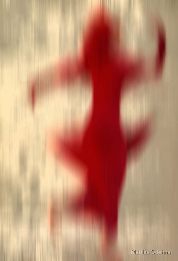 Dancer in red by Marlies Odehnal