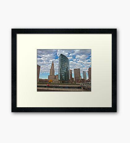 Phoenix Plaza - Hartford, CT Framed Print