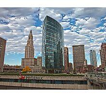 Phoenix Plaza - Hartford, CT Photographic Print