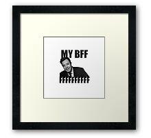 My BFFFF Framed Print
