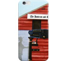 The Jamieson and Woodspoint Chronicle Mural iPhone Case/Skin