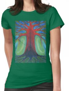 Tree Of Quiet Womens Fitted T-Shirt