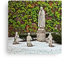 St. Leonard's Peace Garden - Boston, MA Canvas Print