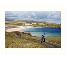 Into the blue - St. John's Peninsula, Donegal Art Print