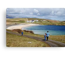Into the blue - St. John's Peninsula, Donegal Canvas Print