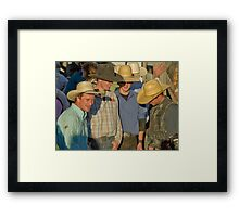 Cowboy Internet Framed Print