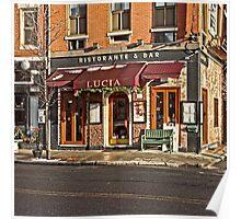 Lucia - Boston, MA Poster