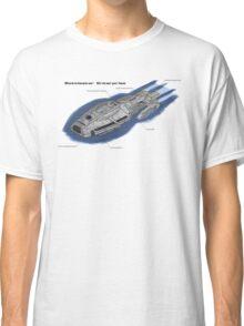 Battlestar Enterprise NX-1701-F Classic T-Shirt