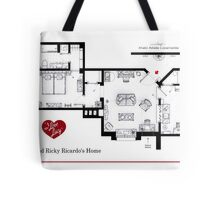 Lucy and Ricky Ricardo's apartment Tote Bag