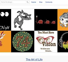 Vision - 19 January 2011 by The RedBubble Homepage