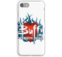 Buffy Flaming Heart iPhone Case/Skin