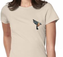 A Bird on the Heart Womens Fitted T-Shirt