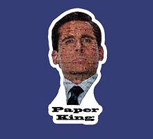 Michael Scott - Paper King Womens Fitted T-Shirt