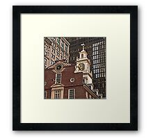Old South Meeting House - Boston, MA Framed Print