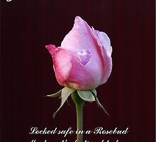 Happy Valentine - In a Rosebud by Gilberte