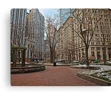 Norman B. Leventhal Park - Boston, MA Canvas Print