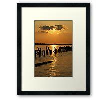 TCC Sunset Framed Print