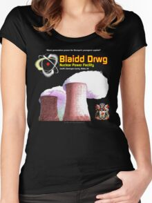 Blaidd Drwg (Bad Wolf) Women's Fitted Scoop T-Shirt