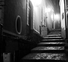 A Streetview in Santa Maria alla Scala. Sicily, Italy 2011 by Igor Pozdnyakov