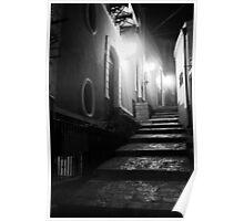 A Streetview in Santa Maria alla Scala. Sicily, Italy 2011 Poster