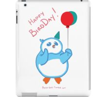 Happy BirdDay! iPad Case/Skin