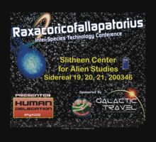 Raxacoricofallapatorius Inter-species Tech Conference by SOIL