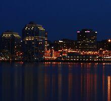 Halifax Waterfront at Dusk by stewartcher