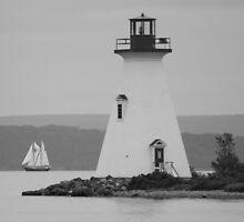 Baddeck, Lighthouse by stewartcher